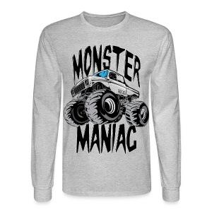 Monster Truck Maniac Uni - Men's Long Sleeve T-Shirt