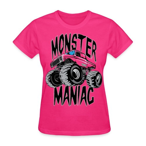 Monster Truck Maniac Uni - Women's T-Shirt