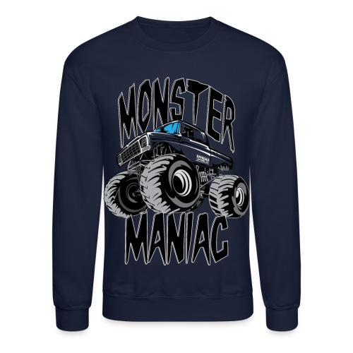 Monster Truck Maniac Uni - Crewneck Sweatshirt