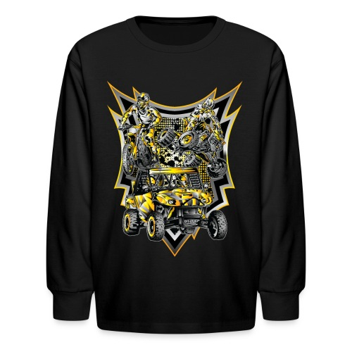 Extreme Off-Road Life - Kids' Long Sleeve T-Shirt