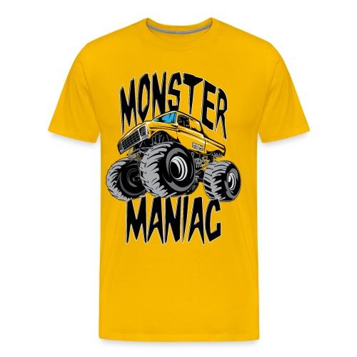 Monster Truck Maniac Uni BACK - Men's Premium T-Shirt