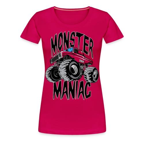 Monster Truck Maniac Uni - Women's Premium T-Shirt