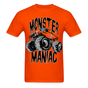 Monster Truck Maniac Uni - Men's T-Shirt