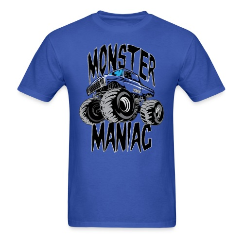 Monster Truck Maniac Uni - Men's T-Shirt