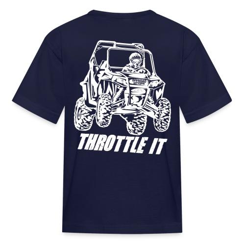 UTV SxS Throttle It BACK - Kids' T-Shirt