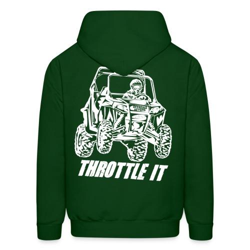 UTV SxS Throttle It BACK - Men's Hoodie