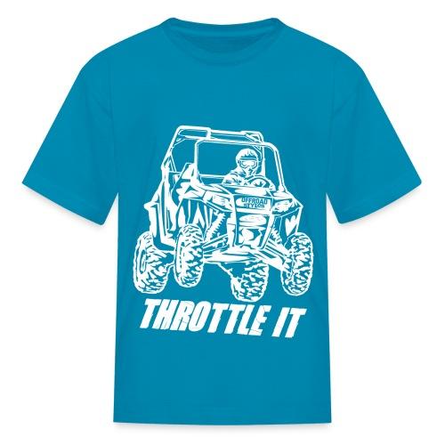 UTV SxS Throttle It - Kids' T-Shirt