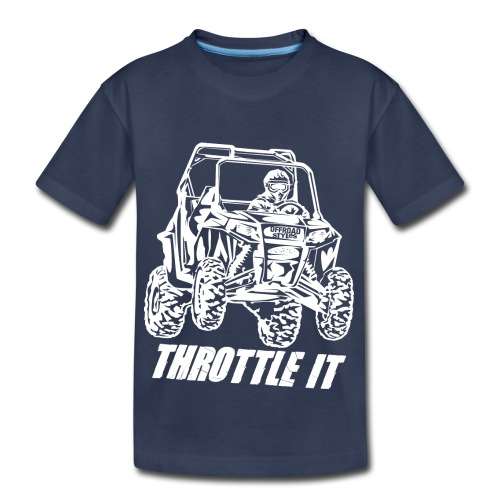 UTV SxS Throttle It - Kids' Premium T-Shirt