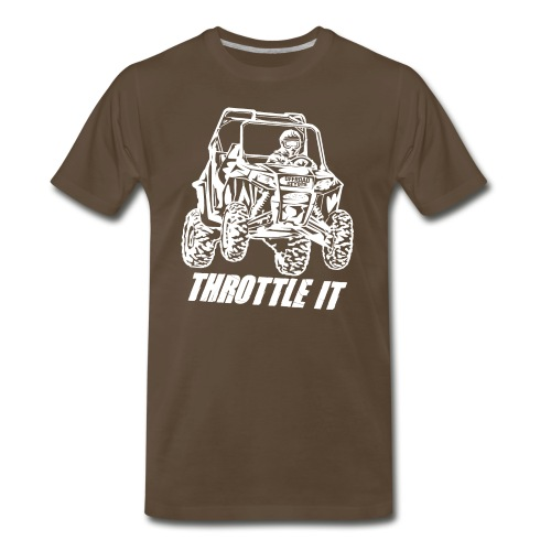 UTV SxS Throttle It - Men's Premium T-Shirt