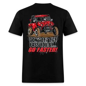 UTV SxS Go Faster BACK - Men's T-Shirt