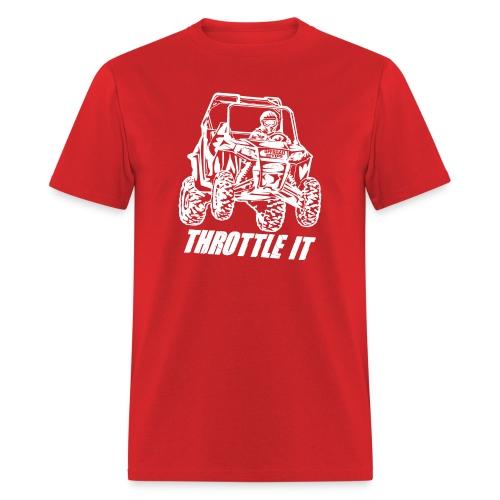 UTV SxS Throttle It - Men's T-Shirt