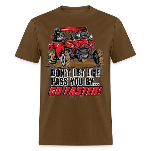 UTV SxS Go Faster - Men's T-Shirt