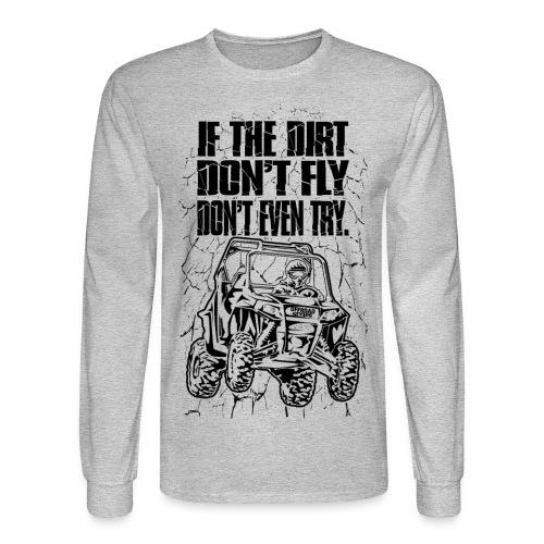 UTV SxS Dirt Fly - Men's Long Sleeve T-Shirt