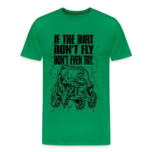 UTV SxS Dirt Fly - Men's Premium T-Shirt