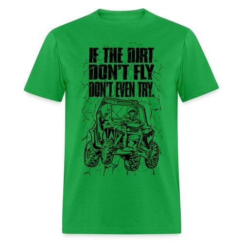 UTV SxS Dirt Fly - Men's T-Shirt