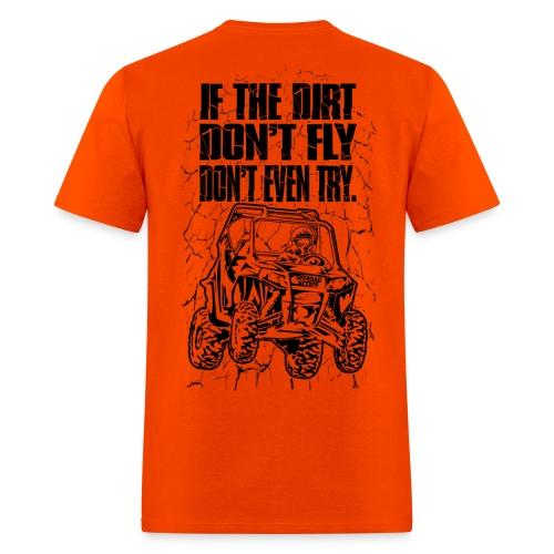 UTV SxS Dirt Fly BACK - Men's T-Shirt