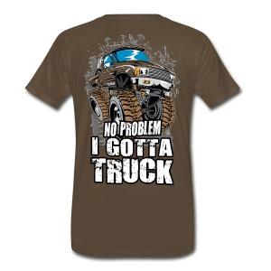 No Problem Truck BACK - Men's Premium T-Shirt