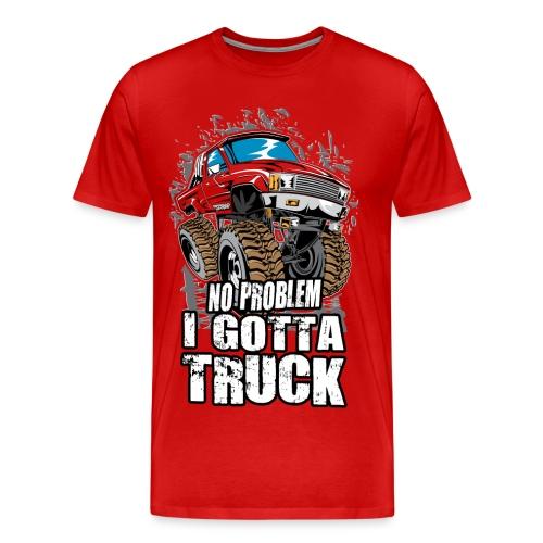 No Problem Truck - Men's Premium T-Shirt