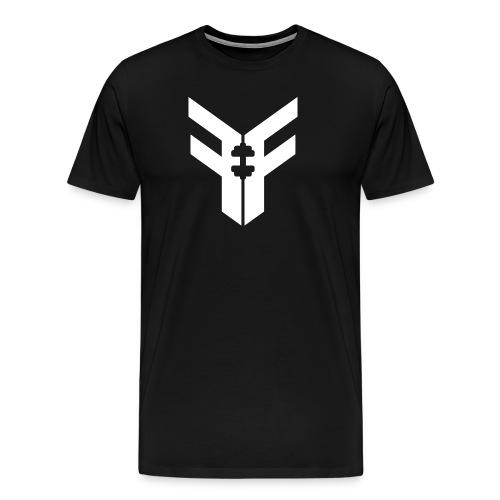 Men's Federation Fit Logo T-Shirt (Black/White) - Men's Premium T-Shirt