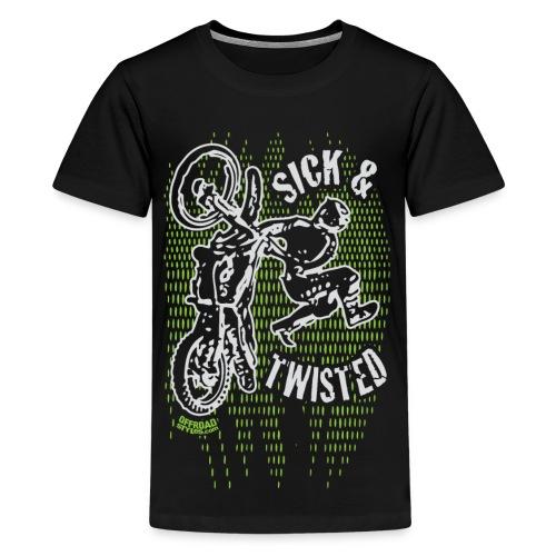 Sick Twisted Motocross - Kids' Premium T-Shirt