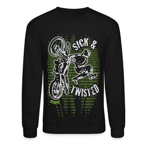 Sick Twisted Motocross - Crewneck Sweatshirt