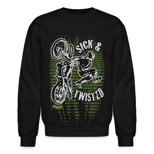 Sick Twisted Motocross - Crewneck Sweatshirt