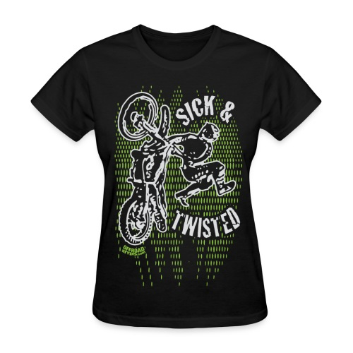 Sick Twisted Motocross - Women's T-Shirt