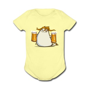 Friday Cat №22 - Short Sleeve Baby Bodysuit