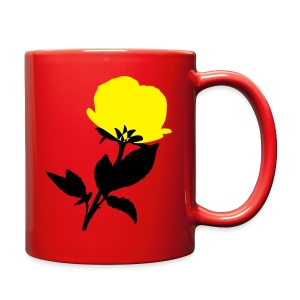 yellow flower Full Color Mug - Full Color Mug
