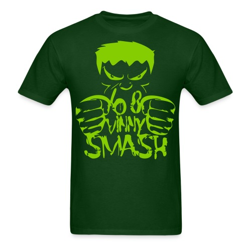 SMASH (lime drawing) - Men's T-Shirt