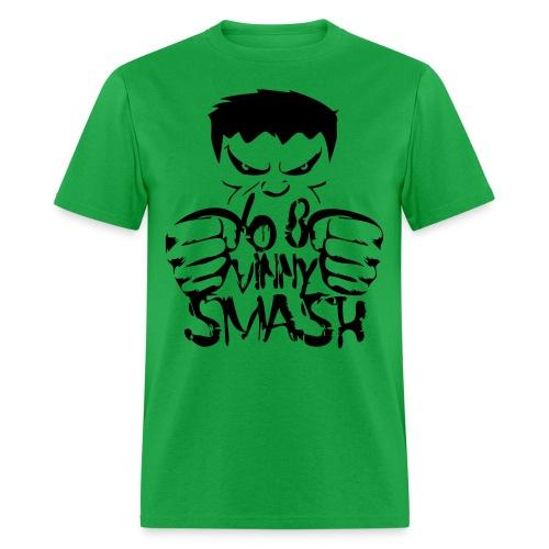 SMASH (black drawing) - Men's T-Shirt