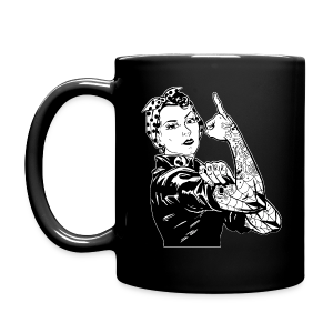 Tattooed Rosie Mug - Full Color Mug