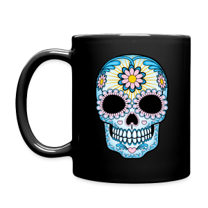 Colorful Sugar Skull Mug - Full Color Mug