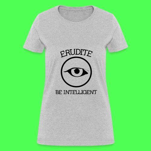 ERUDITE TEE - Women's T-Shirt