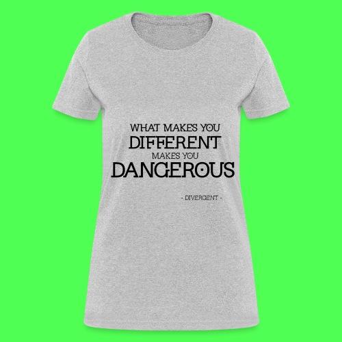 DANGEROUS DIVERGENT TEE - Women's T-Shirt