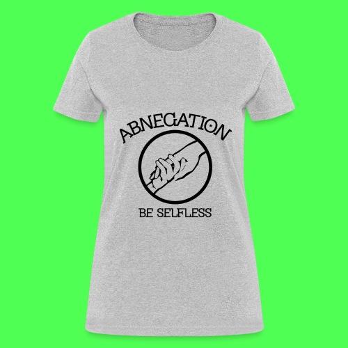 ABNEGATION TEE - Women's T-Shirt