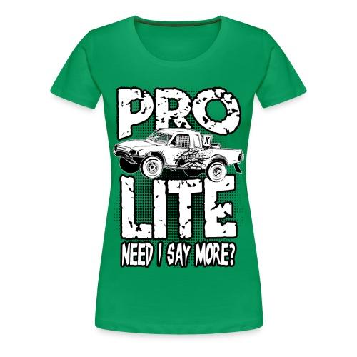 Pro Lite Race Truck Shirt - Women's Premium T-Shirt