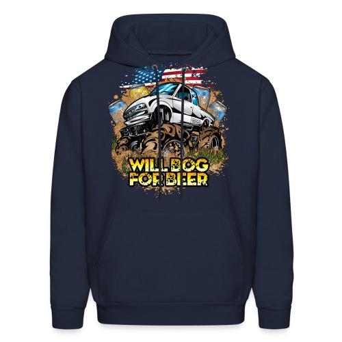 Bog For Beer Mud Truck - Men's Hoodie