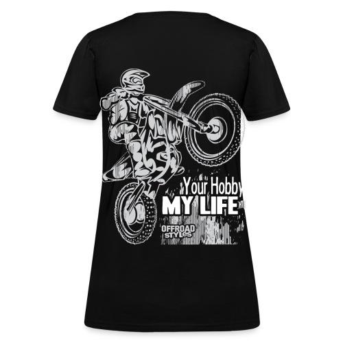 Motocross Hobby Life - Women's T-Shirt