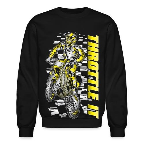 Motocross Throttle It Suzuki - Crewneck Sweatshirt