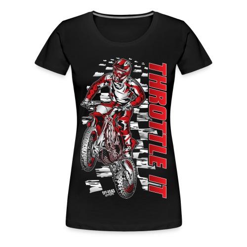 FMX Throttle It Honda - Women's Premium T-Shirt