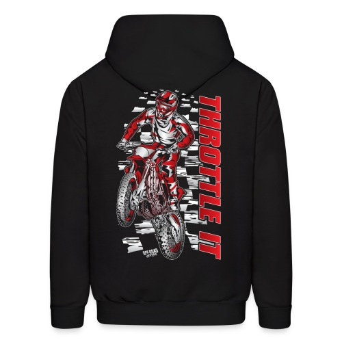 FMX Throttle It Honda - Men's Hoodie