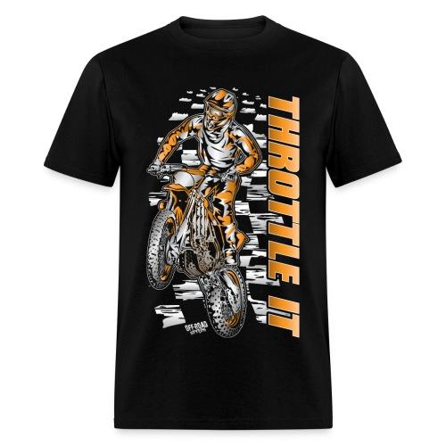 Motocross Throttle It KTM - Men's T-Shirt
