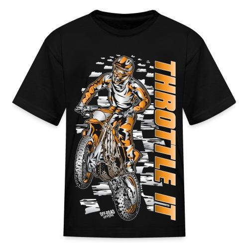 Motocross Throttle It KTM - Kids' T-Shirt