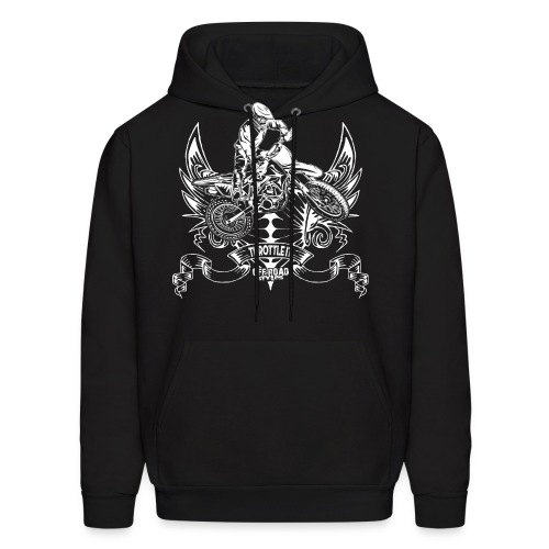 Motocross Badge - Men's Hoodie