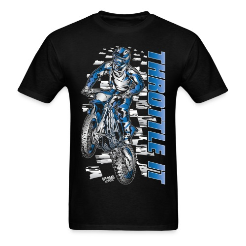 FMX Throttle It Yamaha - Men's T-Shirt
