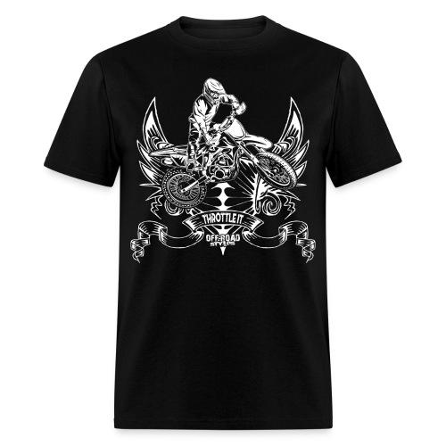 Motocross Badge - Men's T-Shirt