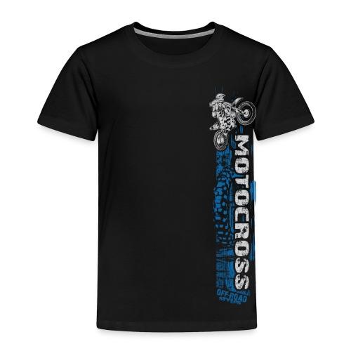 Motocross Side Panel - Toddler Premium T-Shirt