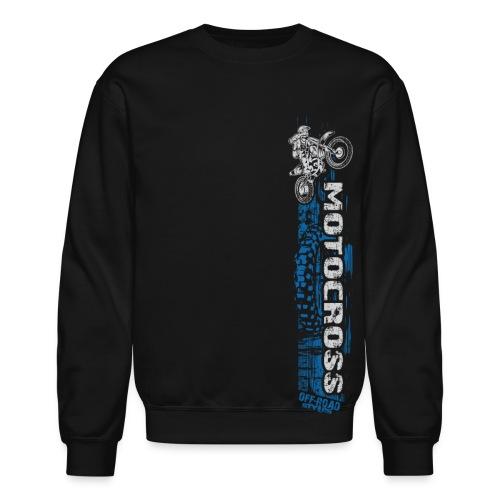Motocross Side Panel - Crewneck Sweatshirt