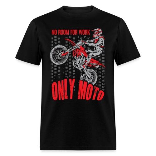 Dirt Bike Only Moto Honda - Men's T-Shirt